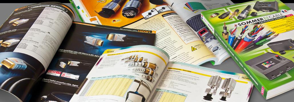Abwicklung und Umsetzung von Katalogen