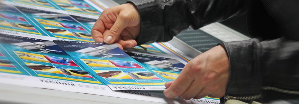 Print Produktion anspruchsvoller Projekte