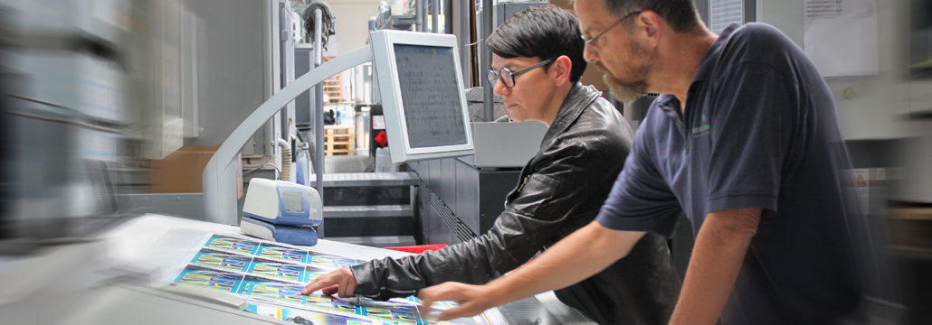 Produktion komplexer Druckprojekte