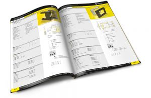 Katalog für Investitionsgüter Branche
