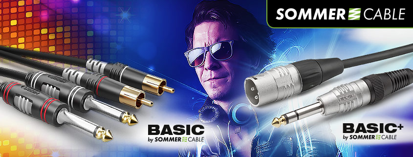 SOMMER Cable Basic Series