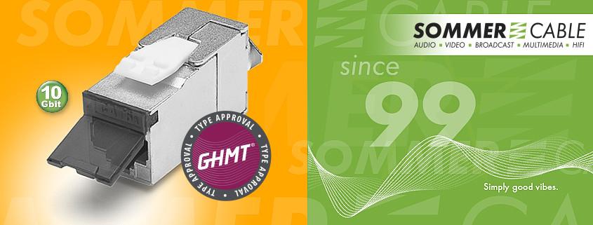 RJ45 ONESIZE Buchse CAT.6a – GHMT zertifiziert