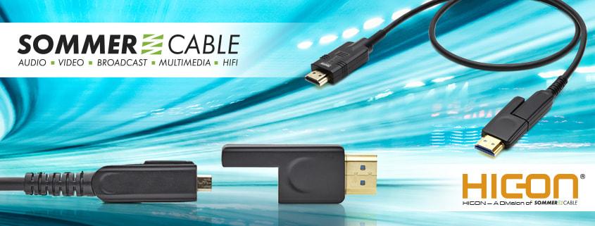 UHD-HDMI-Installation mit Schwalbenschwanz
