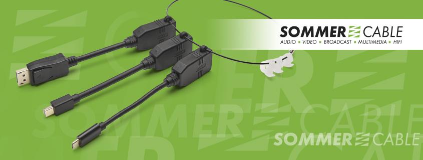 HDMI®-Adapterring zum Anschluss der gängigsten Verbindungstypen
